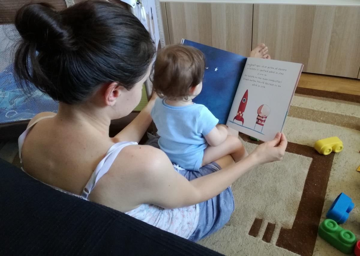 cei citesc copilului meu